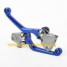 Blue Color CNC Off-road Brake Clutch Levers For Yamaha YZ426F YZ450F 2009-2014