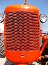 Allis Chalmers C tractor REPAINTED AC front nose cone grill w/ screen over radia
