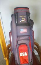 Ryder Cup The Belfry United States staff golf bag, rain cover included