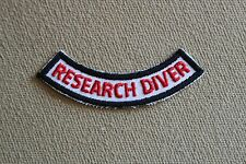 PADI Research Diver Scuba Diver Patch