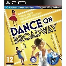 Sony Playstation 3 PS3 Spiel Ubisoft Dance on Broadway Move erforderlich Neu