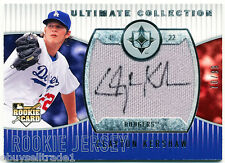 /99~AU~JSY~BEST RC~CLAYTON KERSHAW 2008 Ultimate Collection ROOKIE AUTO CARD~'08