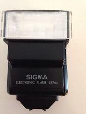 Sigma 287MA Flash Electrónico + Estuche
