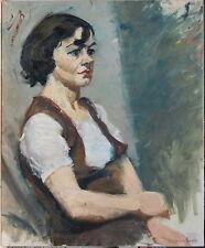"""L.A.Demangeon 1909/1979  """"Trés beau PORTRAIT de Femme"""""""