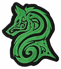 IRISH WOLF Embroidery BIKER PATCH