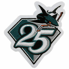 2015 San Jose Sharks Team 25th Anniversary NHL Hockey Season Logo Jersey Patch