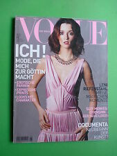 VOGUE magazine Deutsch 08 2004 August 2002 Mark Abrahams Armani Prada Gucci