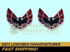 1975 1976 1977 1978 Pontiac Firebird Formula Trans Am Sail Panel Emblems Set