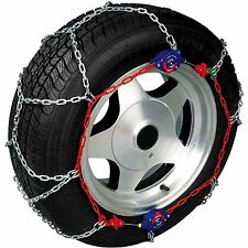 Snow Wheel Chains New AutoTrac AutoTensioning Diamond Pattern 2wd Size 2505