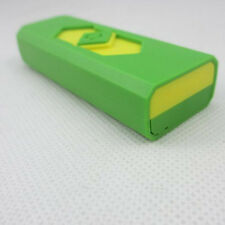 Portable USB Rechargeable Lighter No Gas/Fuel Superman Cigar Green