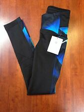 Athleta Magnetic Power Lift Tight Women's Compression Pants Blue Black XXS New