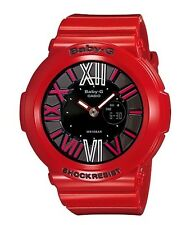 Casio Baby-G * BGA160-4B Neon Illum Gloss Red Ivanandsophia COD PayPal MOM17