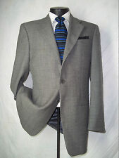 Awesome Mani (Giorgio Armani) 3 Button Solid Gray Wool Coat, Jacket 38 R