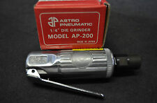 """Mini Air Die Grinder with 1/4"""",6MM collet Made in Japan Brand New !!!"""