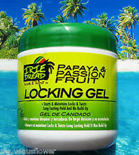 DREAD HEAD LOCK & TWIST PAPAYA & PASSION FRUIT LOCKING GEL