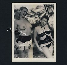 NUDE women's Outdoor Fun/des femmes nues ont plaisir * vintage 50s us photo #12