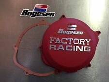 Boyesen Factory Racing Clutch Cover - RED - CRF450R 2009-16