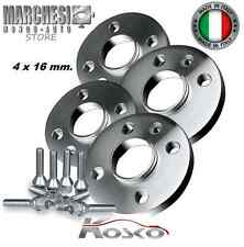 KIT 4 DISTANZIALI RUOTE 16 MM. GRANDE PUNTO ABARTH 2005- 2009 INCLUSO BULLONI