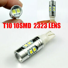 2x 1200 Lumens T10 921 10 SMD 2323 LED Projector Reverse Backup Light Bulbs New