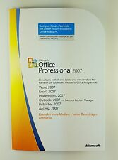 Microsoft Office 2007 PROFESSIONAL PRO MLK v2 Tedesco Nuovo Incl. Access 269-13719