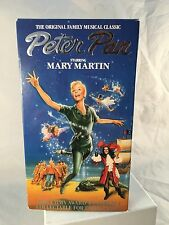 Peter Pan starring Mary Martin VHS