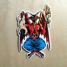 Cliche 101 vinyl sticker decal Supreme Marc McKee Satan 666 devil 90s bumper