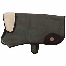 Country Pet Luxury In Tweed Cane Cappotto Verde 45cm