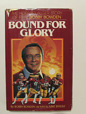 Bound For Glory, by Bobby Bowden - 1980, Signed, 1st Ed.,1st Ptg.H/C Book