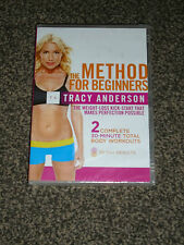 TRACY ANDERSON : THE METHOD FOR BEGINNERS - NEW & SEALED DVD (FREE UK P&P)