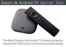 Android TV 4K Xiaomi Mi Box with ultraloaded KODI & MEGA RETRO GAME Edition