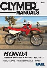 Clymer M221 Service & Repair Manual for Honda XR600R / XR650L