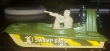1970s Lesney Matchbox no. 30 swamp rat military airboat green Superfast