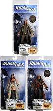 "Jonah Hex figure 7"" Series 1 SET OF 3! JONAH HEX LILAH QUENTIN TURNBULL NECA"