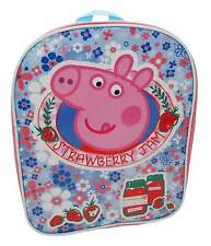 Girls Peppa Pig Home Sweet Home Basic School Bag Nursery Backpack
