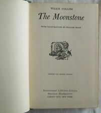 The Moonstone Wilkie Collins Illustrated William Sharp 1944 Doubleday