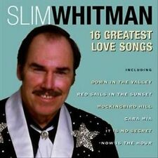 NEW - 16 Greatest Love Songs by Whitman, Slim