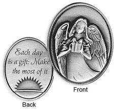 COIN - INSPIRATIONAL ANGEL TOKEN - Each Day is a Gift: Make the Most of It