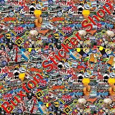 Stickers Bomb FORD sheet Euro Vinyl Decal vw Vauxhall  honda Dub  volkswagen