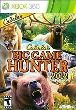 WII CABELA'S BIG GAME HUNTER 2012 BRAND NEW VIDEO GAME ONLY