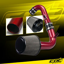 11-15 Chevy Cruze Turbo 1.4L 4cyl Red Cold Air Intake + Stainless Air Filter