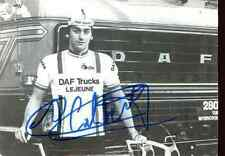 GUIDO VAN CALSTER team DAF Lejeune Trucks Signed Autographe cycling Signé equipe