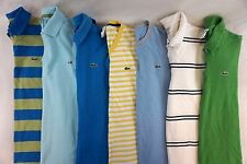 Lacoste Lot of 7 Men's Casual Short Sleeve Polo Shirts Size 5  [L13895]