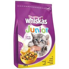 WHISKAS JUNIOR UP TO 1 YEAR WITH CHICKEN Dry Kitty Food 300g 10,5 oz