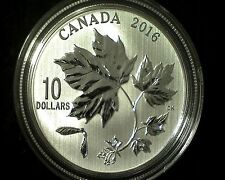 2016/2011  $10 FINE SILVER ``MAPLE  LEAF  FOREVER  (Two Coins Total)