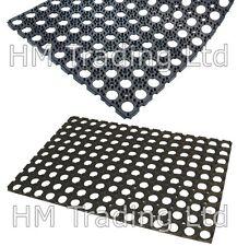 Easy Clean Non Slip Large 100% Rubber Front Back Door Entrance Floor Mat Outdoor
