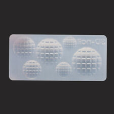 1Pc Golf Pattern 3D Acrylic Nail Art Mold Mould Manicure DIY Decoration #49