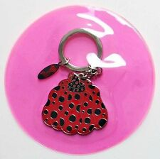 YAYOI KUSAMA Pumpkin Dots Obsession Key Chain Ring RED Official Authentic F/S