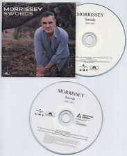 MORRISSEY Swords 2009 UK 26-track numbered promo 2-CD