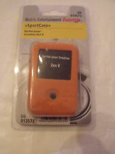 Hama Orange Robust Silicone MP3 SportCase for Creative Zen V