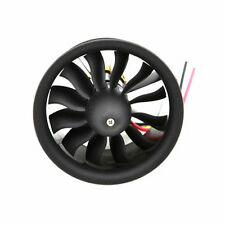 64 mm Ducted Fan Set 12 Blades Electric EDF With 4s motor kv2500 for RC models